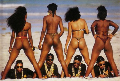 "2 Live Crew Coverfoto des ""As Nasty as they wanna be"" Covers (Pic: Luke Records)"